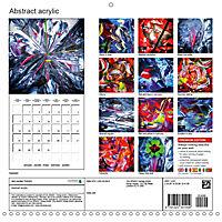 Abstract acrylic (Wall Calendar 2019 300 × 300 mm Square) - Produktdetailbild 13