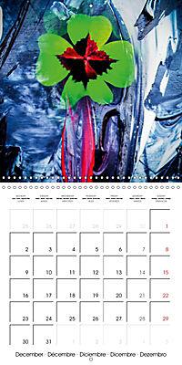 Abstract acrylic (Wall Calendar 2019 300 × 300 mm Square) - Produktdetailbild 12