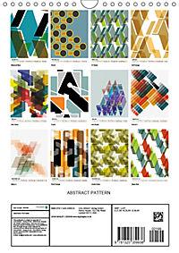 ABSTRACT PATTERN (Wall Calendar 2019 DIN A4 Portrait) - Produktdetailbild 13