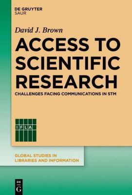 Access to Scientific Research, David J. Brown