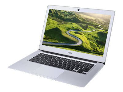 ACER Chromebook CB3-431-C6H3 Silver 35,5cm 14Zoll IPS FHD matt Intel N3160 4GB LPDDR3 32GB/eMMC Intel HD 400 Google Chrome OS no ODD