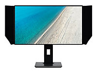 ACER PE270KProDesigner 68,6cm 27Zoll TFT 3840x2160 4K UHD 2xHDMI 2.0 DP Audio Out IPS USB 3.1 Hub DisplayPort Lautsprecher Schwarz - Produktdetailbild 8