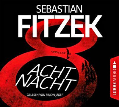 AchtNacht, 6 Audio-CDs, Sebastian Fitzek