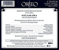 Aci E Galatea-Dramma Giocoso Per Musica - Produktdetailbild 1