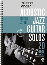 Acoustic Jazz Guitar Solos - Michael Langer |
