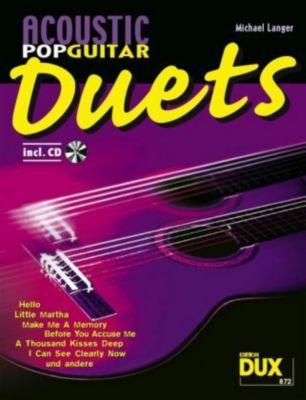 Acoustic Pop Guitar Duets, m. Audio-CD