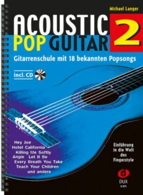 Acoustic Pop Guitar, m. Audio-CD, Michael Langer