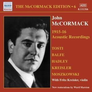 Acoustic Recordings 1915-16, John Mccormack