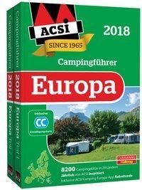 ACSI Internationaler Campingführer Europa 2018, 2 Bde.