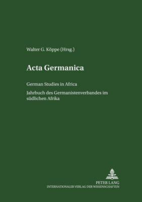 Acta Germanica