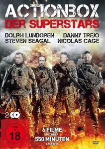 Actionbox Der Superstars (2 Dvds Mit 6 Filmen), Lundgren, Lewis, Daniels, Seagal, Cage, Trejo, Various