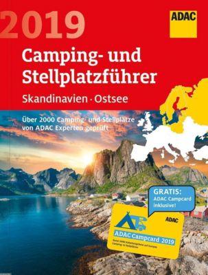 ADAC Camping- und Stellplatzführer Skandinavien, Ostsee 2019