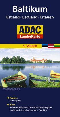 ADAC Karte Baltikum