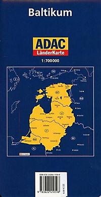 ADAC Karte Baltikum - Produktdetailbild 1