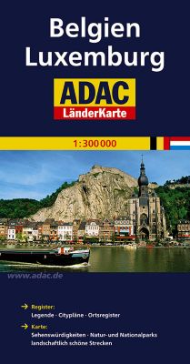 ADAC Karte Belgien, Luxemburg
