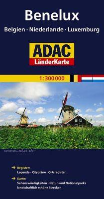 ADAC Karte Benelux