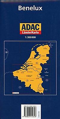 ADAC Karte Benelux - Produktdetailbild 1