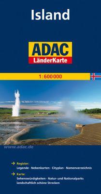 ADAC Karte Island
