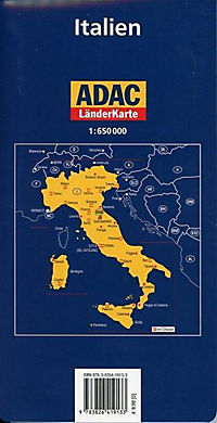 ADAC Karte Italien - Produktdetailbild 1