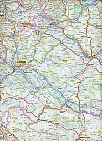 ADAC Karte Kroatien, Bosnien und Herzegowina, Serbien, Montenegro - Produktdetailbild 2