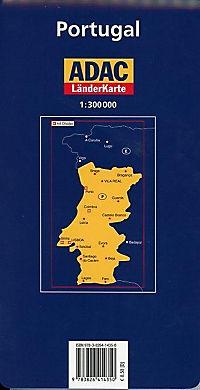 ADAC Karte Portugal - Produktdetailbild 1