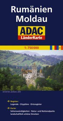 ADAC Karte Rumänien, Moldau