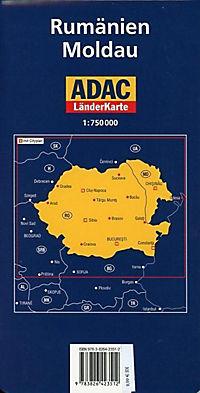 ADAC Karte Rumänien, Moldau - Produktdetailbild 1