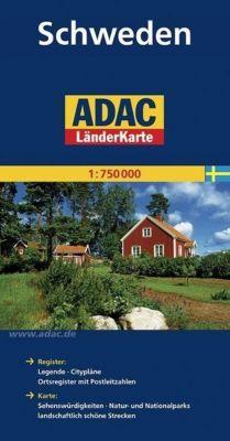 ADAC Karte Schweden