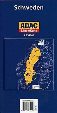 ADAC Karte Schweden - Produktdetailbild 1