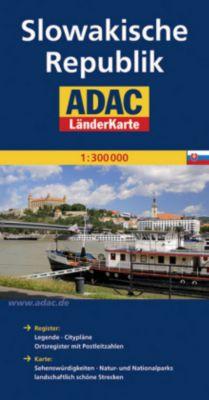 ADAC Karte Slowakische Republik