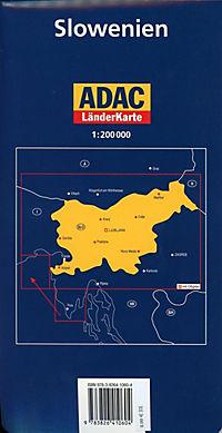 ADAC Karte Slowenien - Produktdetailbild 1