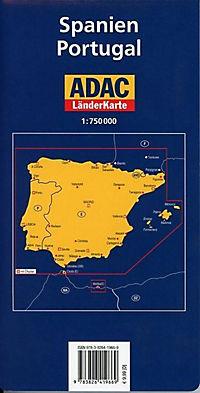 ADAC Karte Spanien, Portugal - Produktdetailbild 1