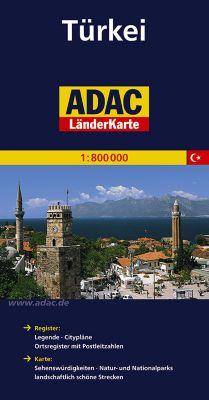 ADAC Karte Türkei