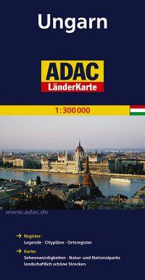 ADAC Karte Ungarn