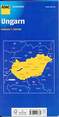 ADAC Karte Ungarn - Produktdetailbild 1