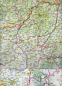 ADAC Karte Ungarn - Produktdetailbild 2
