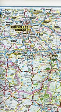 ADAC Länderkarte Frankreich, Luxemburg - Produktdetailbild 2