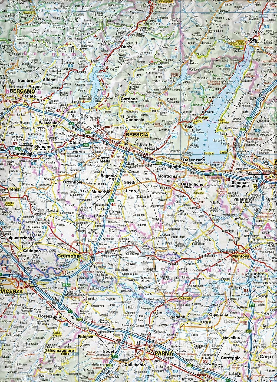 Norditalien Karte.Adac Landerkarte Italien Nord Buch Bei Weltbild De Bestellen