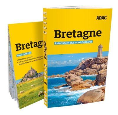 ADAC Reiseführer plus Bretagne - Frank Maier-Solgk |