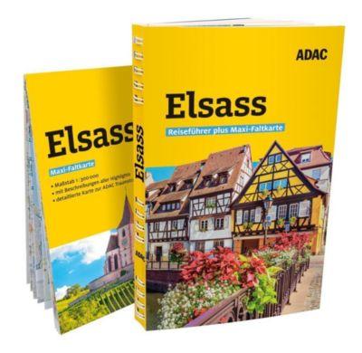 ADAC Reiseführer plus Elsass - Robin Daniel Frommer |