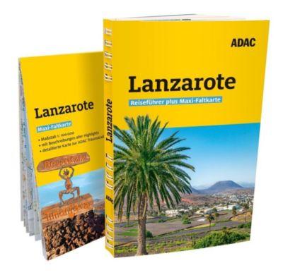 ADAC Reiseführer plus Lanzarote - Nele-Marie Brüdgam  