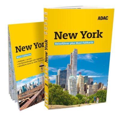 ADAC Reiseführer plus New York - Hannah Glaser |