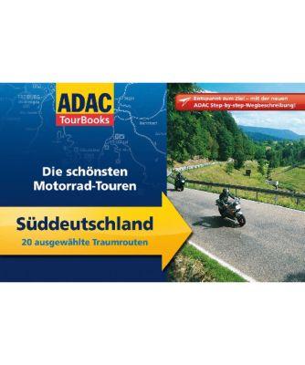ADAC TourBooks Die schönsten Motorrad-Touren, Süddeutschland