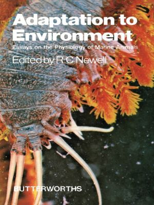 Adaptation to environment essays on the physiology of marine animals