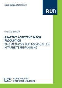 Adaptive Assistenz in der Produktion, Niklas Breitkopf