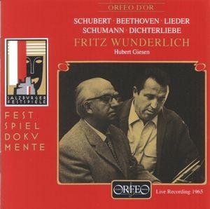 Adelaide/Der Kuss/An Sylvia/Musensohn/Dichterliebe, Fritz Wunderlich, Hubert Giesen