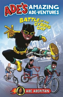 Ade's Amazing Ade-ventures: Battle of the Cyborg Cat, Ade Adepitan