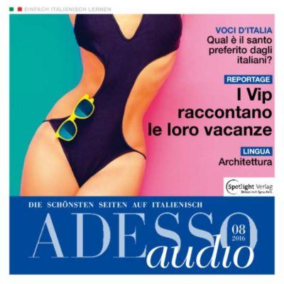 ADESSO Audio: Italienisch lernen Audio - Sommer der Promis, Spotlight Verlag