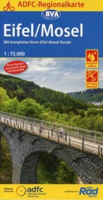ADFC-Regionalkarte Eifel/ Mosel -  pdf epub