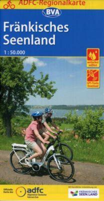 ADFC-Regionalkarte Fränkisches Seenland, 1:50.000, reiß- und wetterfest, GPS-Tracks Download -  pdf epub